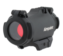 Aimpoint® Micro H-2 Weaver mount an without mount