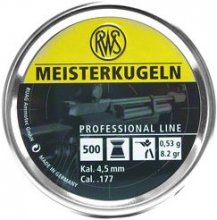 RWS Meisterkugeln Air Rifle 4.5mm