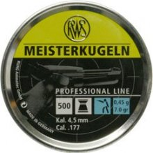 RWS Meisterkugeln Air Pistol 4.5mm