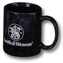 S&W Blue Marbeled 11oz. Coffee Mug With S&W Logo