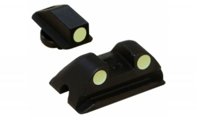 Walther Iron Sights phosphor 3-dot