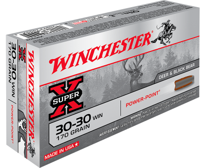 Winchester 30-30 POWER POINT 170gr