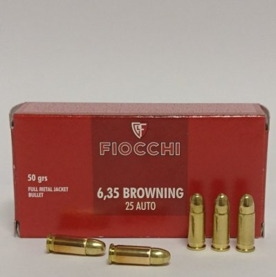 FIOCCHI 6,35 BROWNING