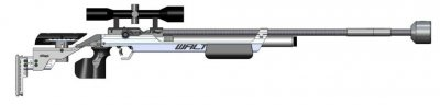 Walther LG 400 Running Target Air Rifle
