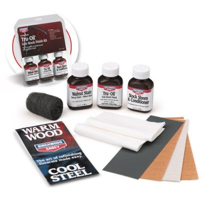 Birchwood Casey Complete Tru Oil Gun Stock Finish Kit
