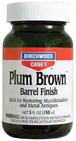 Birchwood Casey Plum Brown Barrel Finish