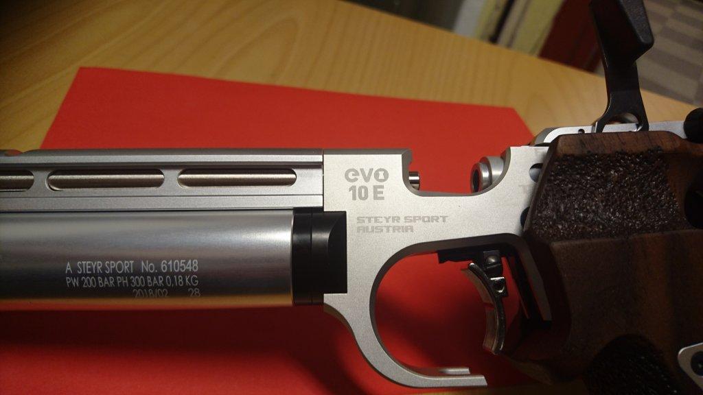 Steyr EVO 10E Air Pistol